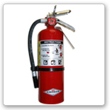 Dry chemical (BC and ABC) fire extinguisher