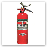 Halon 1301 and 1211 fire extinguisher