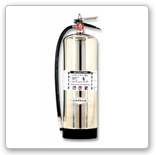 Water Pressure fire extinguisher