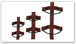 Heavy Duty Rubber Strap Brackets